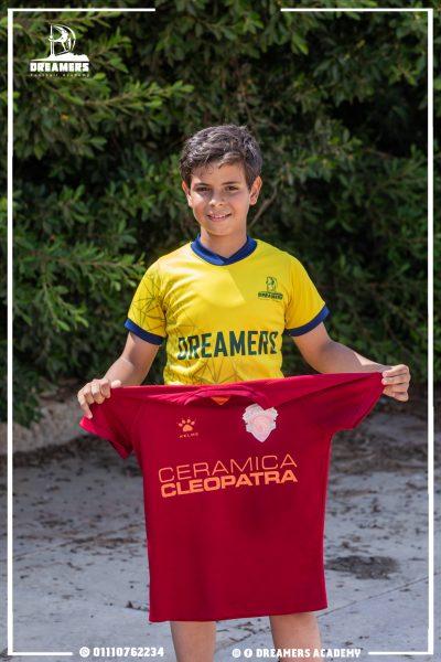 لاعبنا بقميص سيراميكا كليوباترا